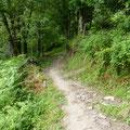 Le chemin qui commence aprés le hameau