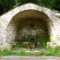 Autrefois cette fontaine délimitait le hameau d'i Forti et d'I Penti