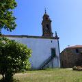 L'église de Pedrouzo