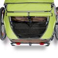Croozer Kid for 2 Kinder e-Bike Anhänger Stauraum mit viel Platz