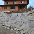 10.11.2012: Die Steinmauer wächst