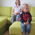 28.6.2013: Gestern ist unser Sofa geliefert worden, ...