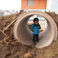 Der Kindertunnel ist fertig