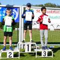 Florian gewann insgesamt 3 Medaillen (Foto: Simone Wollenberg)