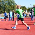 Moritz Müller mit neuer PB beim Schlagball (Foto: Simone Wollenberg)