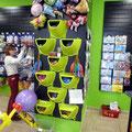 Воздушные шары с рисунком в розницу, для надувания гелием прямо в магазине