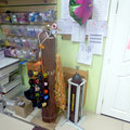Надувание воздушных шаров гелием (услуга в торговом зале)