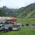 Stall der Käserei im Meiental in wunderschöner Umgebung