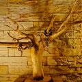 Wurzelholz Schmuckständer Holz Kunst