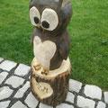 Eule - Kauz - Holzkunst