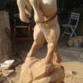 Pferd - Holzkunst