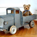 Holzlastwagen 1930er Jahre, original