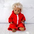 Sasha Puppe blond, 30cm