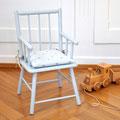 Wisa Gloria Kinderstuhl mit Sitzkissen, restauriert