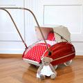 Wisa Gloria Puppenwagen aus den 1950er Jahren