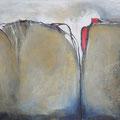 HERBSTSTÜRME, Acryl, Tinte auf Leinwand, 60 x 80 cm, 2013 (vendu, verkauft)