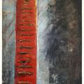 EXIT TERRACE 6, Mischtechnik auf Papier, 39 x 28 cm, 2009