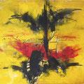 PROMETHEUS, Acryl auf Leinwand, 120 x 145 cm, 2014