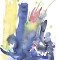 FRÜHLING, 2015 – Aquarell auf Papier, 24 x 18 cm