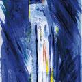 NUIT BLANCHE, Acryl auf Papier, 29,7 x 21 cm, 2004