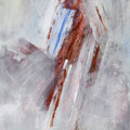 WINTERREISE III, 2016 – Acryl, Pigmente auf Leinwand 41 x 31 cm