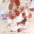 TURBULENZEN, 2016 – Pigmente, Acryl auf Leinwand 145 x 125 cm