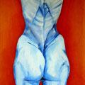 KISS ME KATE, Öl auf Leinwandplatte, 50 x 40 cm, 1994