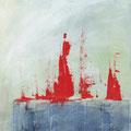 DIE WANDERER, Acryl auf Leinwand, 2014