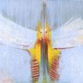 IKAROS I, Acryl, Pigmente auf Leinwand, 60 x 80 cm, 2011 (Privatbesitz)