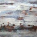 L'ESPRIT DU CRÉPUSCULE | ABENDÄMMERUNG, 2015 – Acryl auf Leinwand, 145 x 120 cm