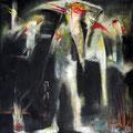 TITRE PRIVÉ, Öl auf Leinwand, 80 x 80 cm, 1996