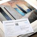 Lithographie Numérique 60 x 60 cm avec son Certificat d'Authenticité
