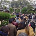 萩・松陰神社へ初詣②