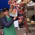 10月20日(日)岩本農園のお父さん❤アップルデーの準備中!!