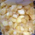 アップルパイ用に果肉ゴロゴロ♪