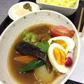スープカレー(夏野菜がチラホラ♪)
