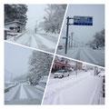豊平に到着、今朝からの積雪20~30㎝!!