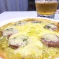 トルティーヤでピザ風に♪♪♪