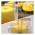 2種のブレンドチーズシフォン
