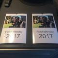 Bilder für den Kalender erstellt und dann drucken lassen