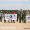 Manifestazione al Masaai Mara in Kenya.