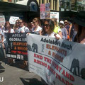 Manifestazione ad Adelaide.