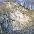 Basaltsteinbruch am Ölberg