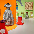 Felt Fuzz and Fur is an interactive showcase of textiles from the New Dowse Collection.