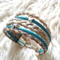 [No. 22] Mehrreihiges Armband mit Pandora Charms und Lederbändern 129€ (ohne Charms)