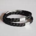 [Nr. 3] Wickelarmband mit zwei Zwischenteilen 925/- 85€