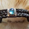[No. 29] Zweireihiges Armband mit Blautopas 295€