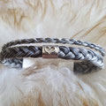 [Nr. 34] Zartes, zweireihiges Armband mit schmalem Mittelteil 105€