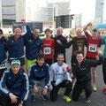 die ersten 14 Läufer vorm Start (© by Ö3)