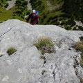 Sortie de L4, du très beau rocher!